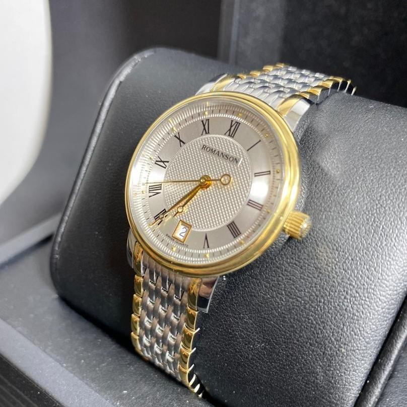 ساعت مچی عقربه ای زنانه رومانسون مدل TM1274BL1CAS1G