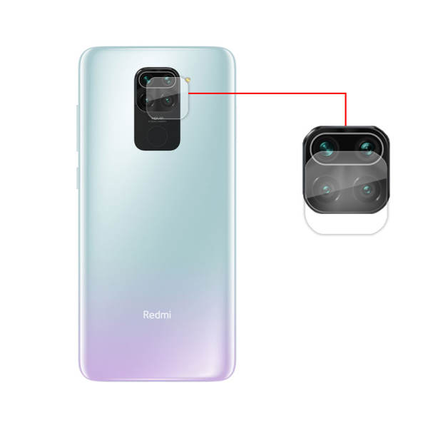 محافظ لنز دوربین مدل bt-13 مناسب برای گوشی موبایل شیائومی Redmi Note 9