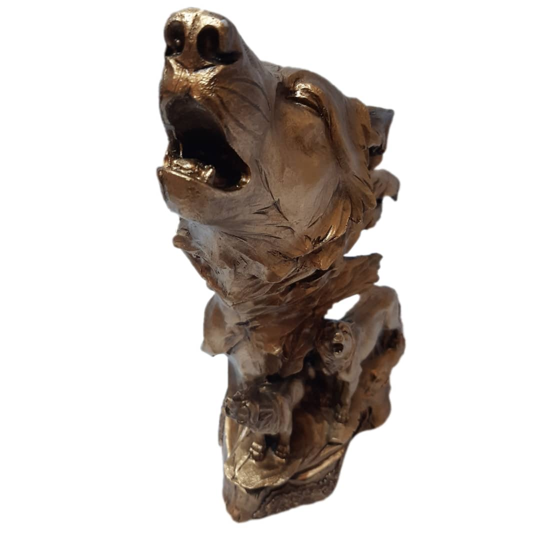 خرید                      مجسمه طرح رخ گرگ کد GH-1049