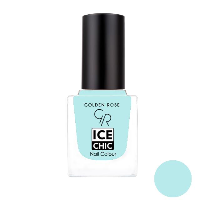 لاک ناخن گلدن رز مدل Ice chic شماره 81