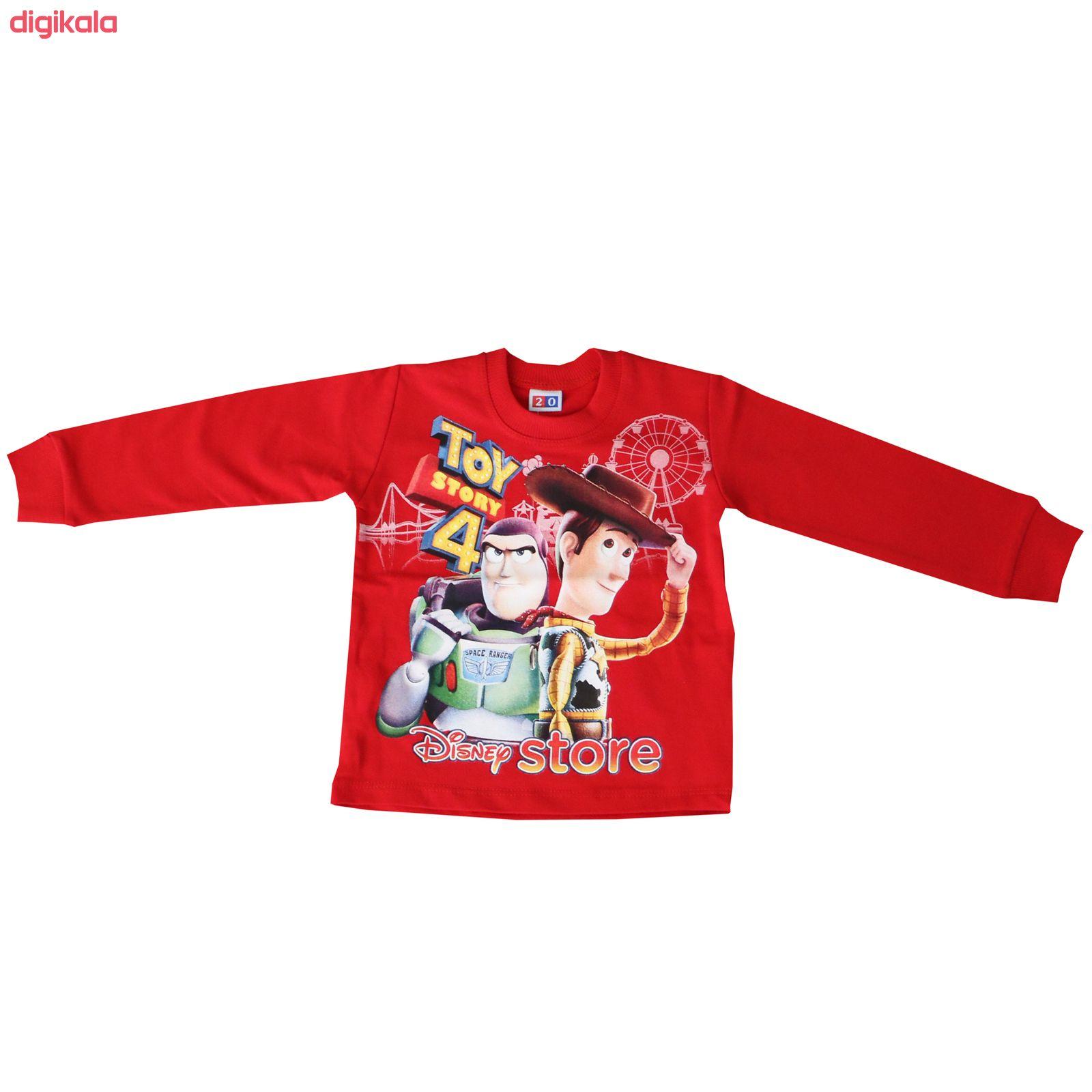 ست تی شرت و شلوار بچگانه طرح Toy Story کد 97072