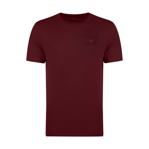 تیشرت آستین کوتاه ورزشی مردانه بیلسی کد 8766 رنگ زرشکی
