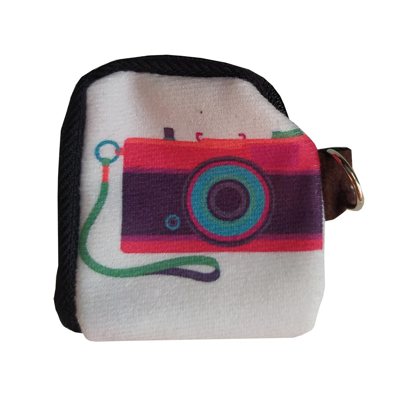 کیف هندزفری طرح دوربین کد 92a