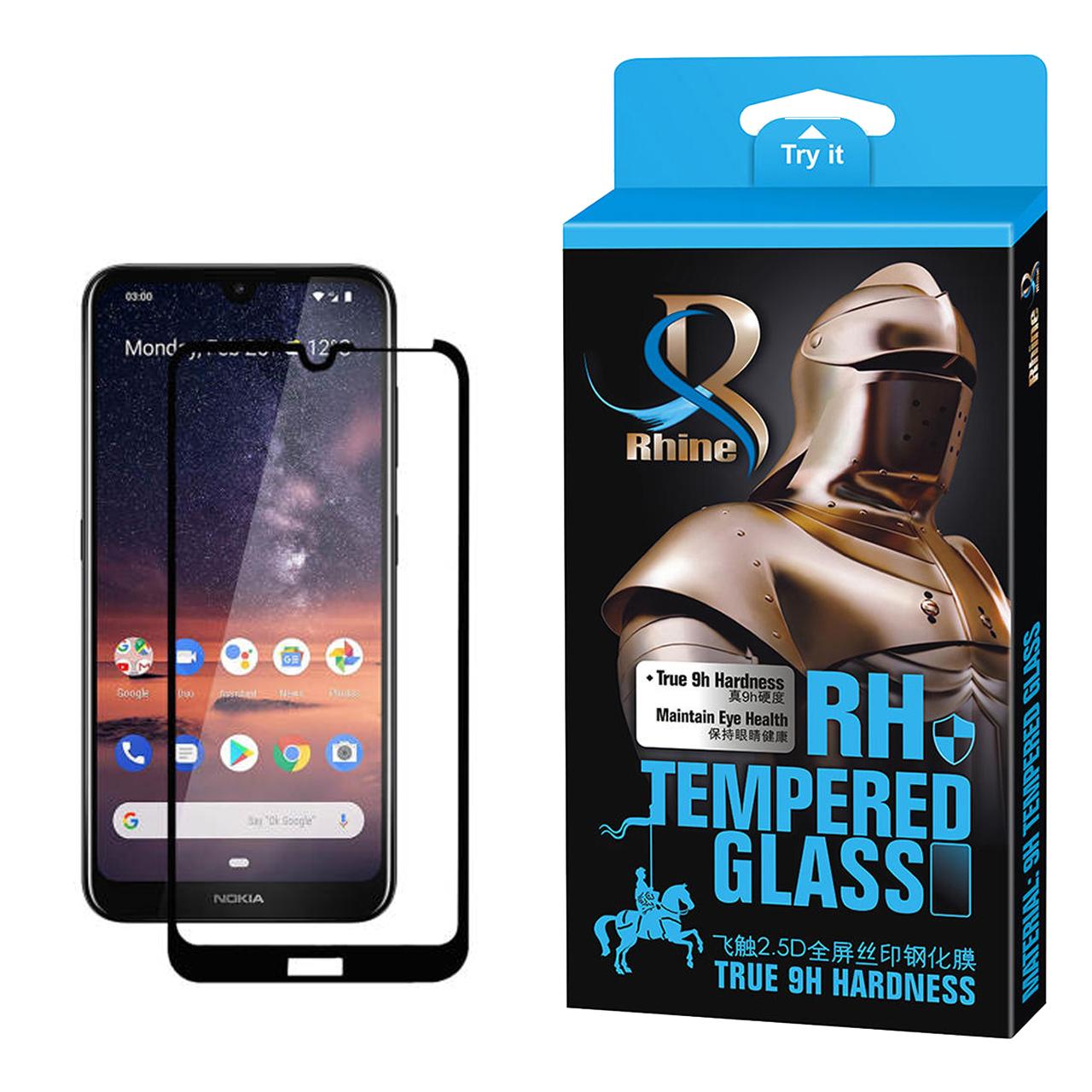 خرید                     محافظ صفحه نمایش راین مدل R_9 مناسب برای گوشی موبایل نوکیا 3.2