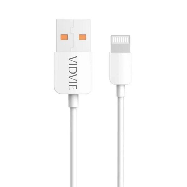 کابل تبدیل USB به لایتنینگ ویدوی مدل CB412 طول 2 متر