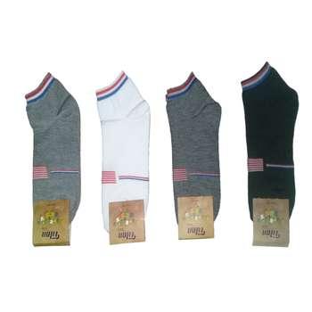 جوراب مردانه مدل A1434 مجموعه 4 عددی