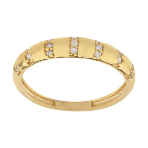 انگشتر طلا 18 عیار زنانه کانیار گالری کد AT15