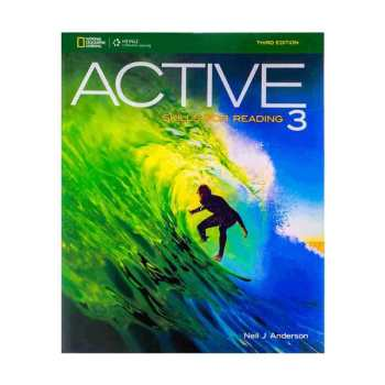 کتاب ACTIVE SKILLS FOR READING 3 اثر Neil J. Anderson انتشارات Heinle