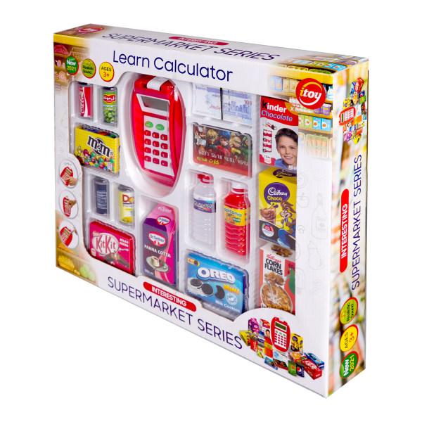 ست اسباب بازی مدل سوپر مارکت