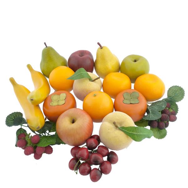 میوه تزیینی هومز مدل 40115 مجموعه 23 عددی