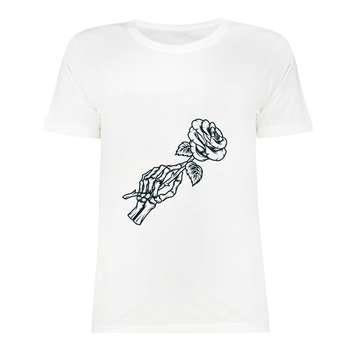 تی شرت آستین کوتاه دخترانه مدل SK991105-012