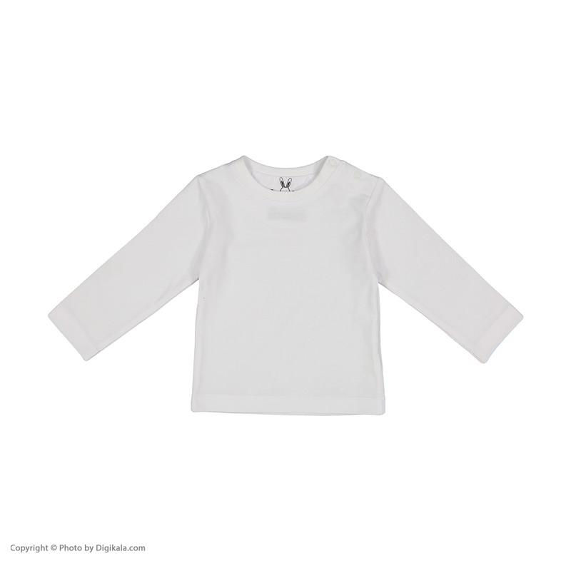ست تی شرت و سرهمی نوزادی تودوک مدل 2151129-08