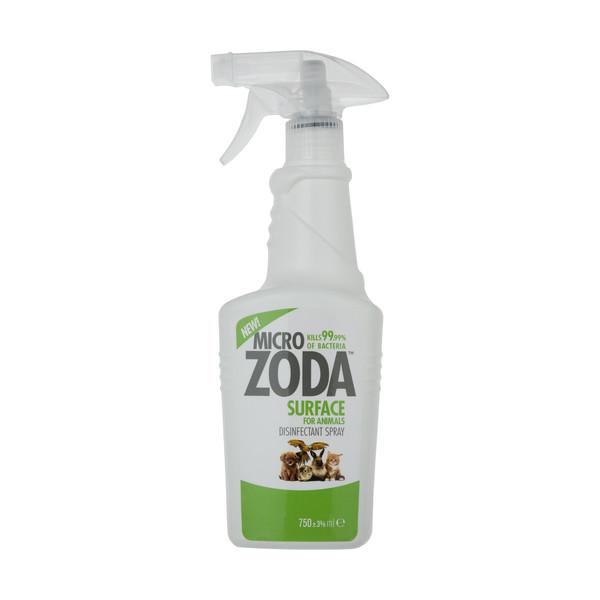 محلول ضد عفونی کننده حیوانات میکروزدا کد 01 حجم 750 میلی لیتر