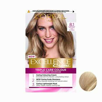 کیت رنگ مو لورآل مدل Excellence شماره 8.1 حجم 48 میلی لیتر رنگ بلوند دودی روشن