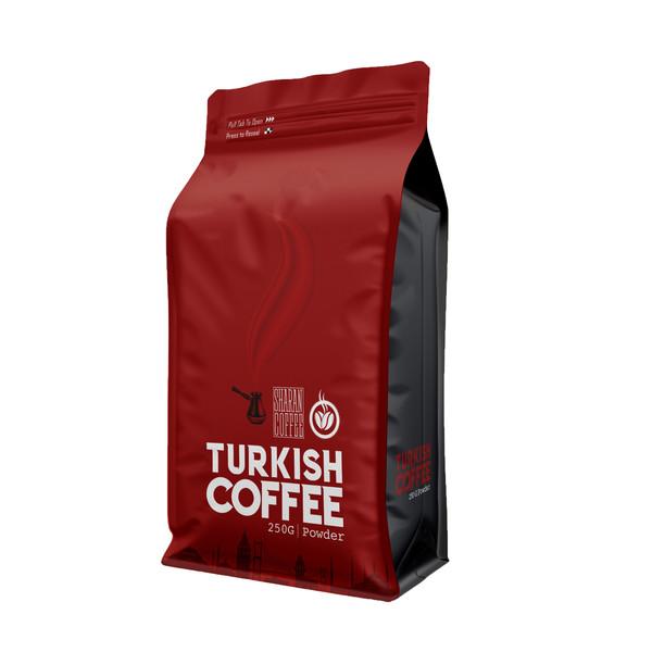 پودر قهوه ترک مدیم ویژه شاران - 250 گرم