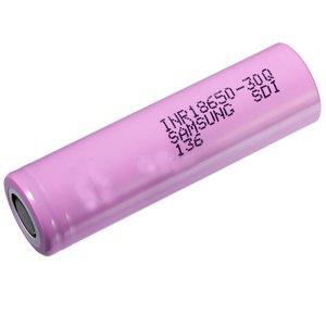 باتری لیتیوم یون سامسونگ مدل 30Q-18650 ظرفیت 3000 میلی آمپر ساعت