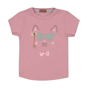 تی شرت دخترانه نونا مدل 2211252-86