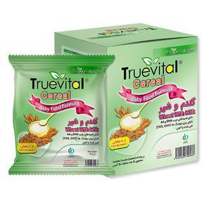 مکمل غذای کودک سرآل گندم و شیر تروویتال- 50 گرم بسته 5 عددی