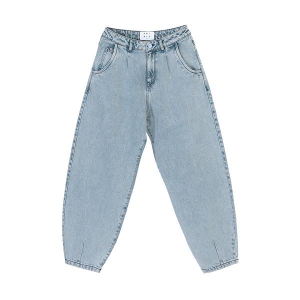 شلوار جین مردانه کوی مدل 229 خمره ای رنگ آبی