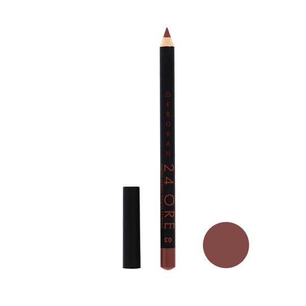 مداد لب دبورا شماره 03