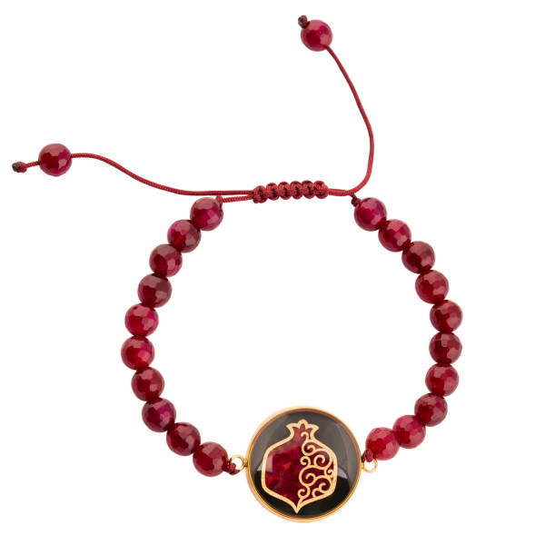 دستبند زنانه الون طرح انار AGH102