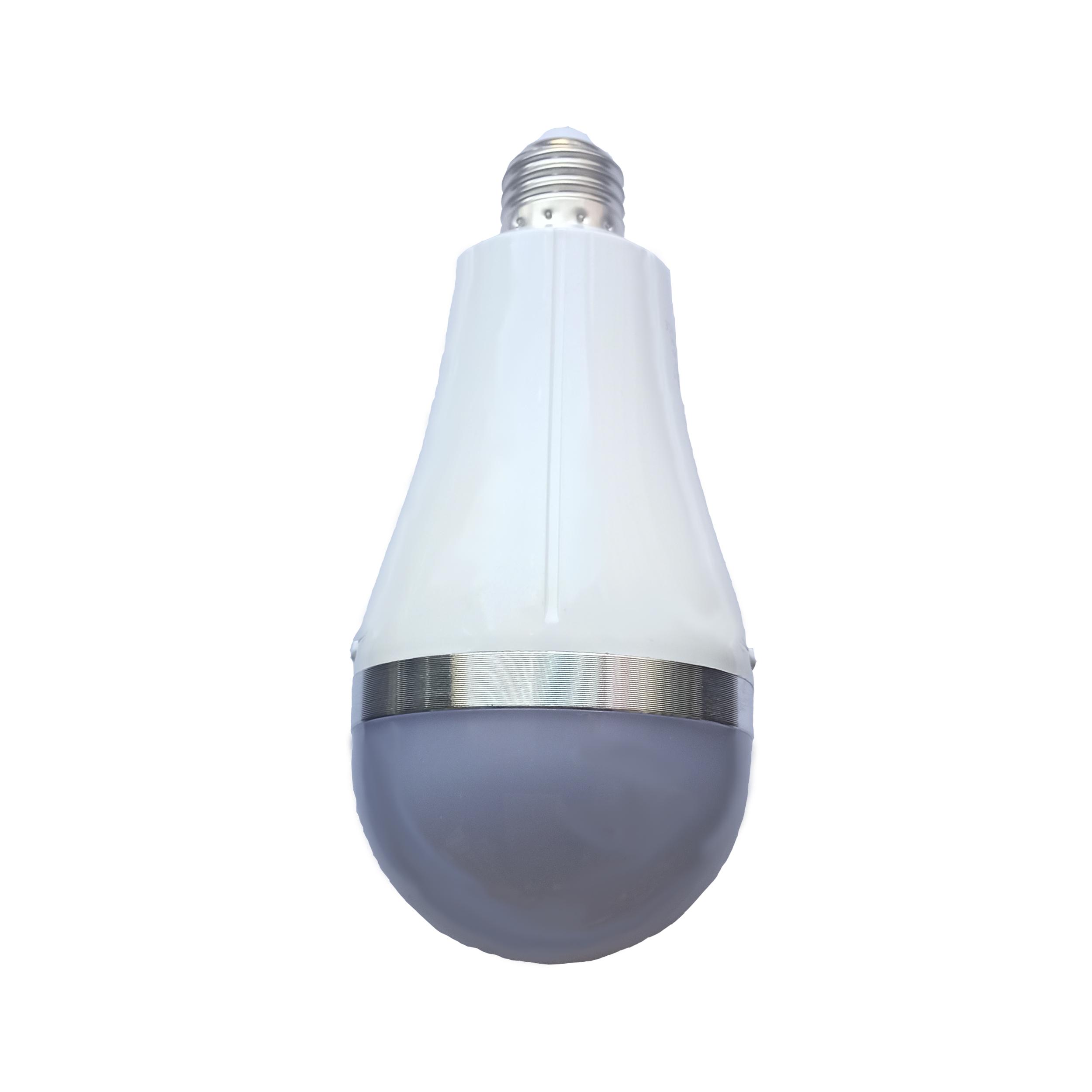 لامپ شارژی ال ای دی 18 وات آزمار مدل  AC8 پایه E27