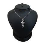 گردنبند نقره زنانه ترمه ۱ مدل مینو کد ma 816