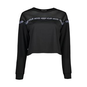 تی شرت ورزشی زنانه هالیدی مدل 803101-BLACK
