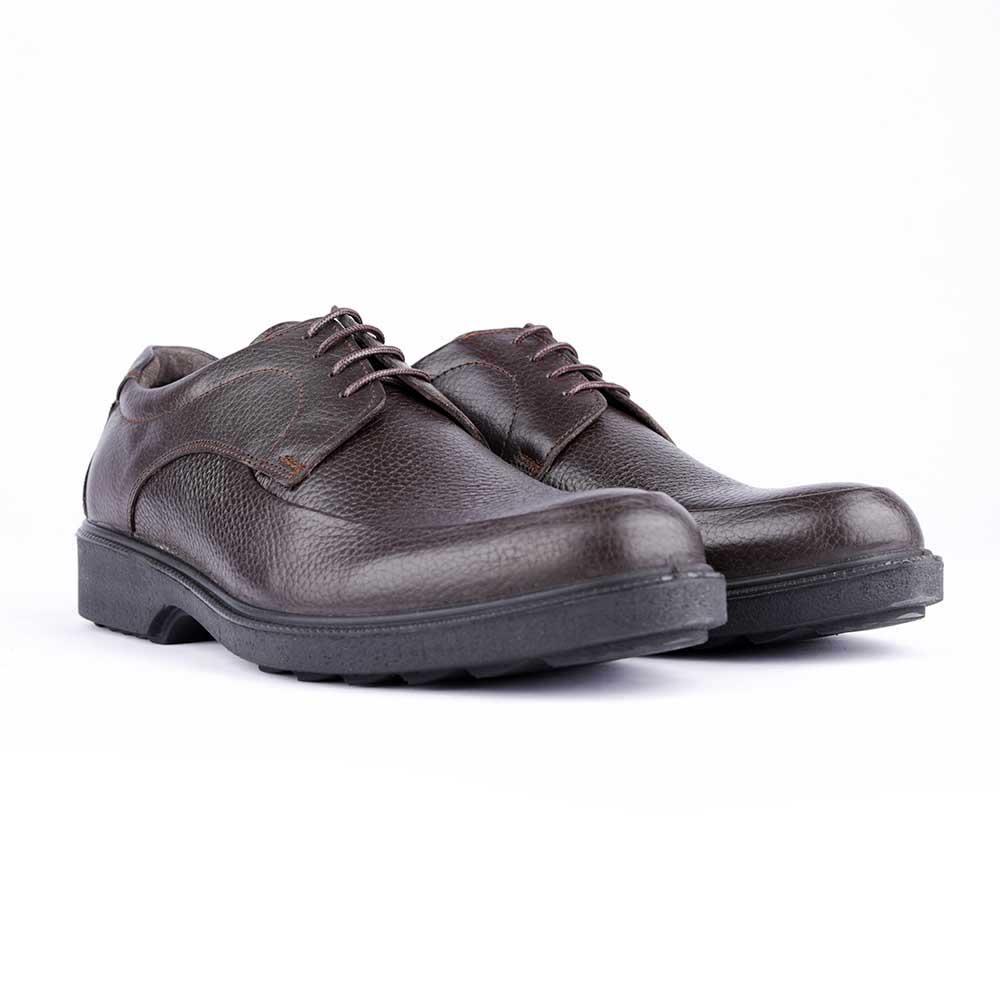 کفش مردانه ملی مدل کوشیار بندی کد 13193754 رنگ قهوه ای