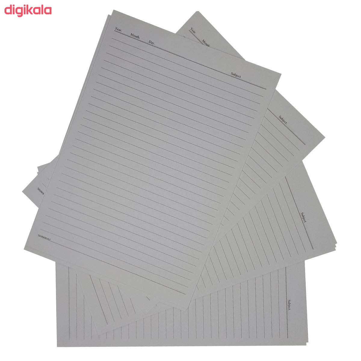 کاغذ A4 خط دار شهباز کد Y50 بسته 50 عددی  main 1 1