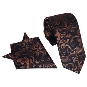 ست کراوات و دستمال جیب مردانه گرِدا مدل 037Rt