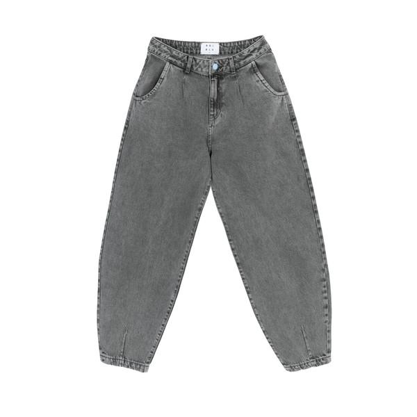 شلوار جین مردانه کوی مدل 229 خمره ای رنگ خاکستری