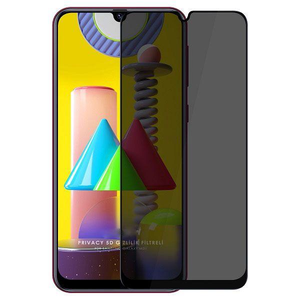 محافظ صفحه نمایش حریم شخصی مدل BGR مناسب برای گوشی موبایل سامسونگ M31