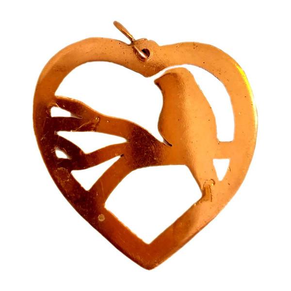 آویز گردنبند بچگانه مدل قلب کد 5