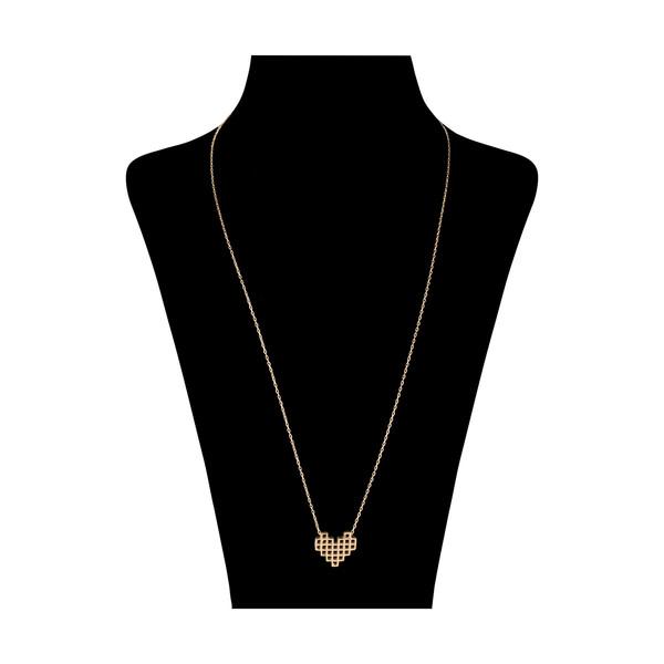 گردنبند طلا 18 عیار زنانه مدیسا مدل N7021
