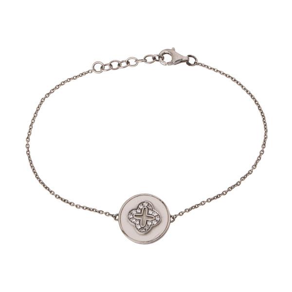 دستبند نقره زنانه آمارانته مدل 4-3762