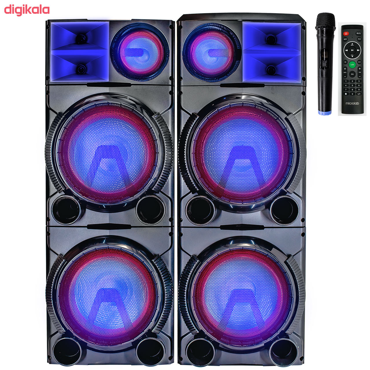 پخش کننده خانگی میکرولب مدل DJ1201SMART main 1 3