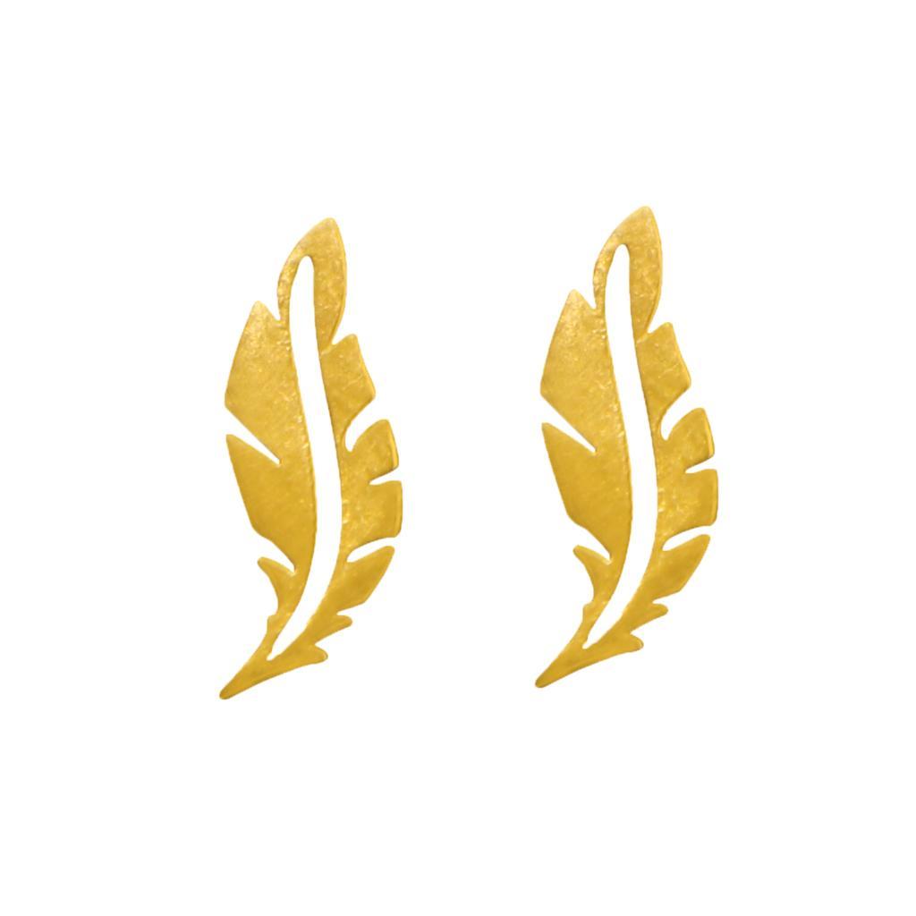 گوشواره طلا 18 عیار زنانه آلند کد G38