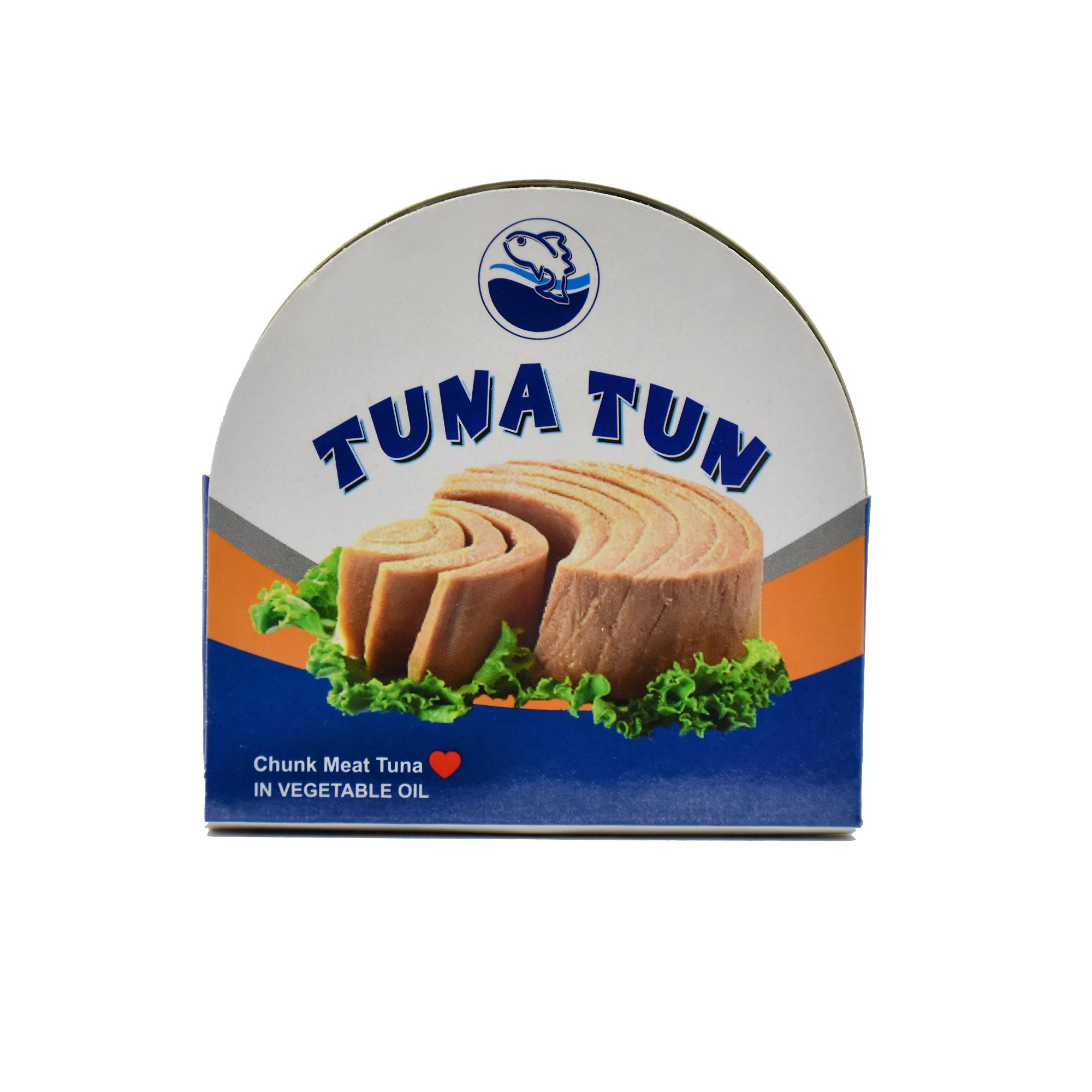 کنسرو ماهی تن در روغن مایع توناتن - 180 گرم
