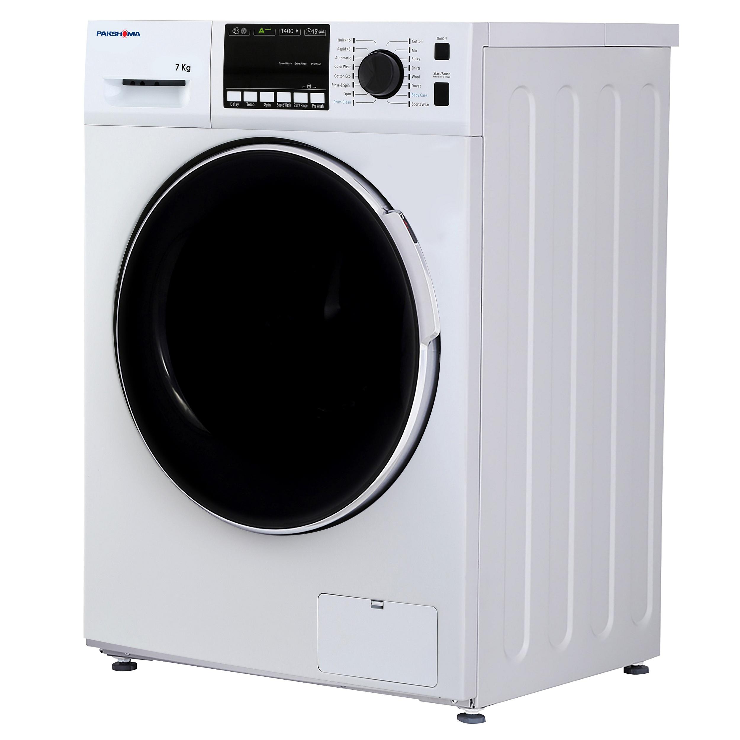 ماشین لباسشویی پاکشوما مدل TFU-74401 ظرفیت 7 کیلوگرم main 1 2