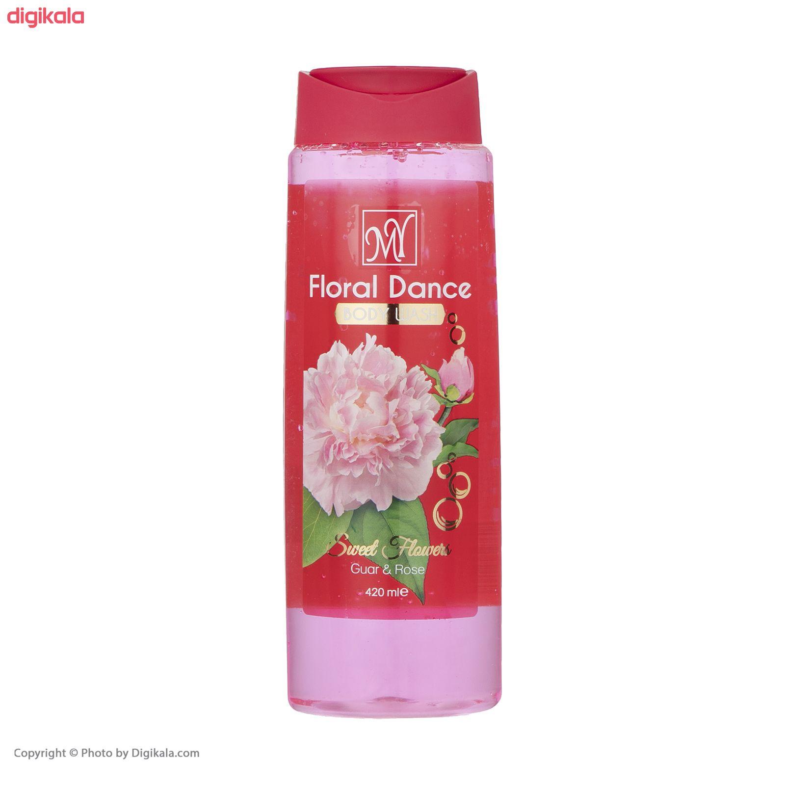 شامپو بدن زنانه مای مدل Floral Dance حجم 420 میلی لیتر main 1 2