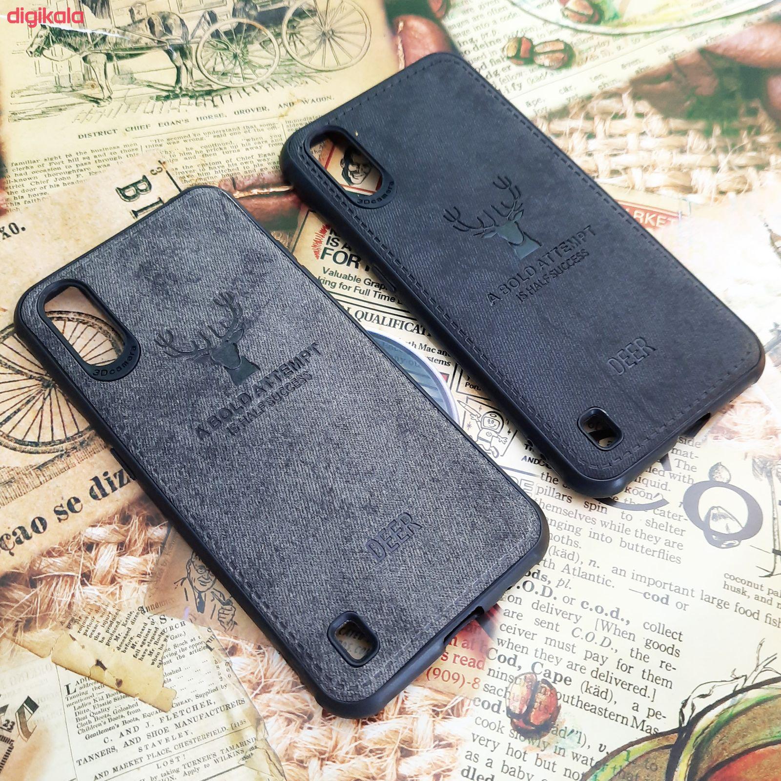 کاور مدل CO503 طرح گوزن مناسب برای گوشی موبایل سامسونگ Galaxy A01 main 1 3