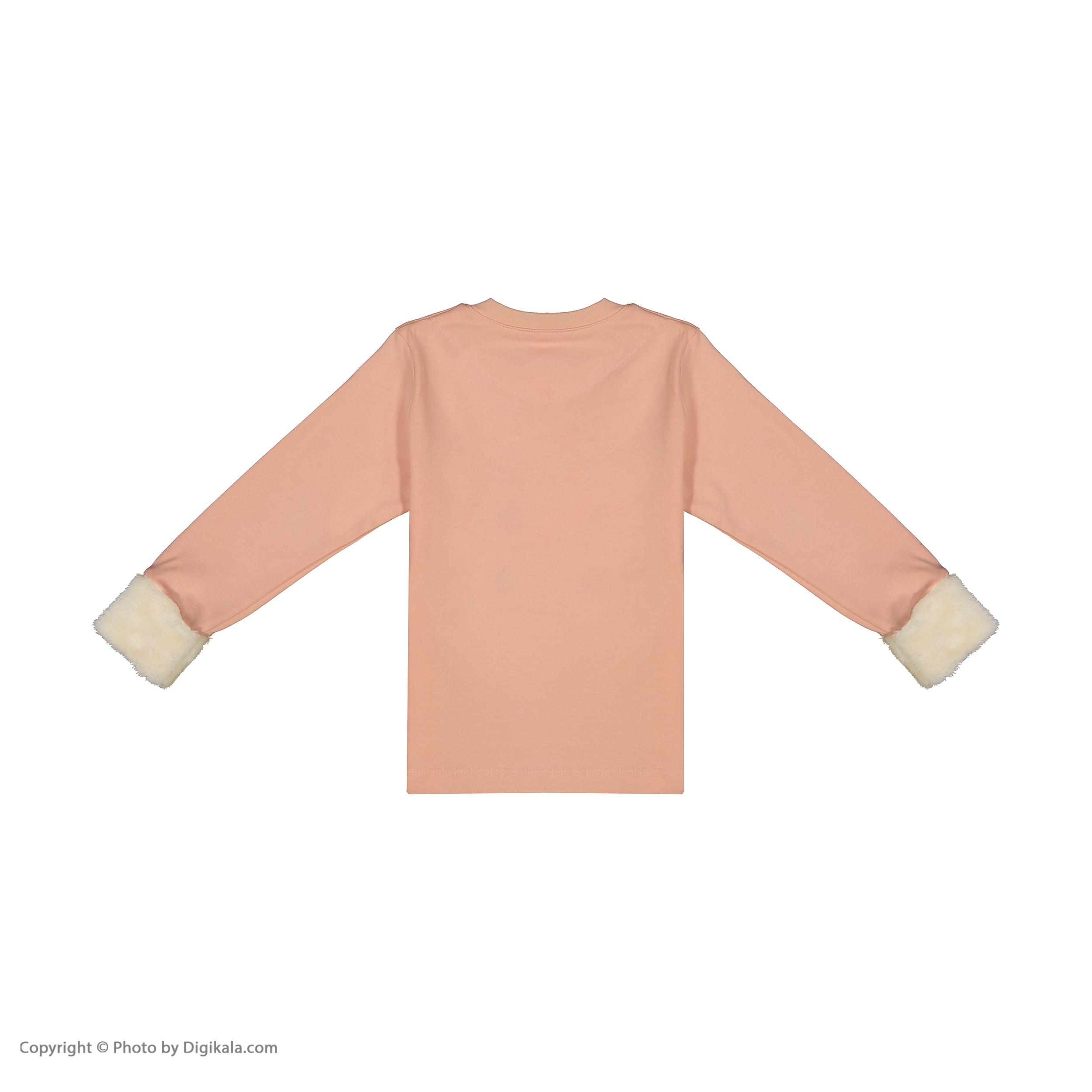 ست تی شرت و شلوار دخترانه مادر مدل 312-80 main 1 3