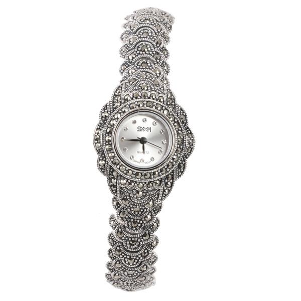 ساعت مچی عقربه ای نقره زنانه مدل GTA-159