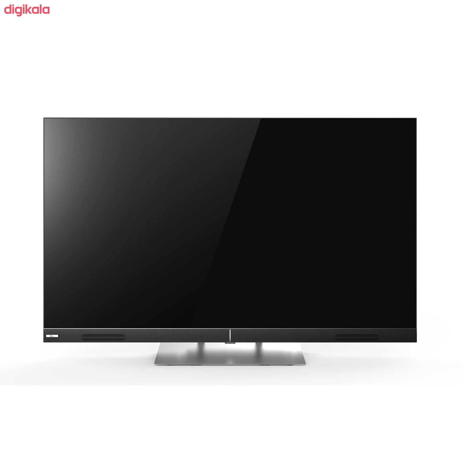 تلویزیون ال ای دی هوشمند جی پلاس مدل GTV-55LQ721S سایز 55 اینچ main 1 2