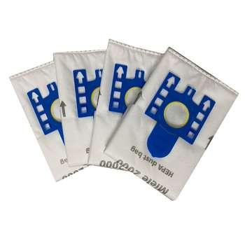 کیسه جاروبرقی کد 001 مناسب برای جاروبرقی میله بسته 4 عددی