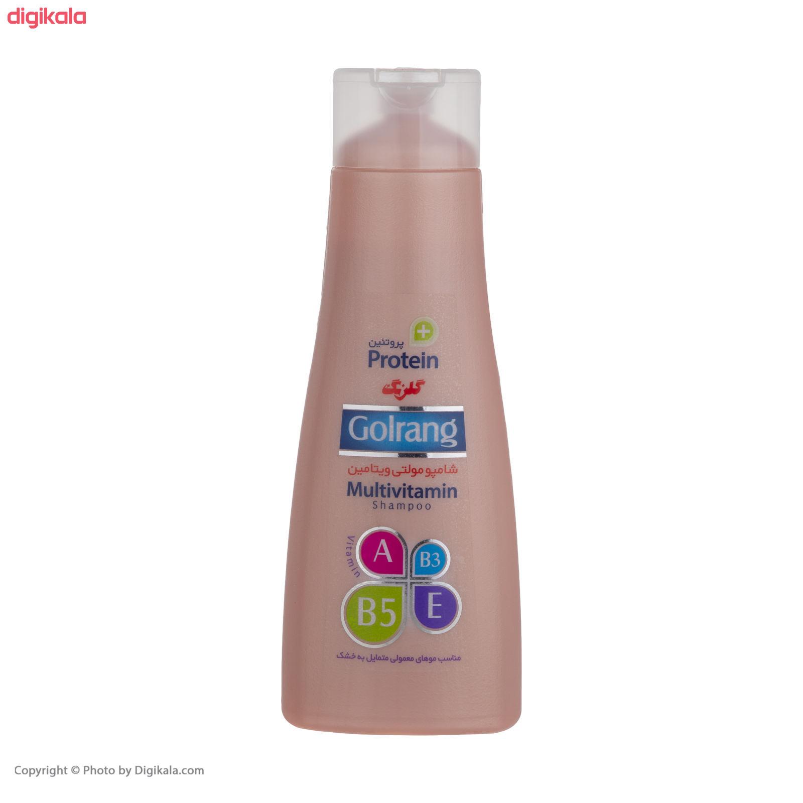 شامپو موی گلرنگ سری Plus Protein مدل Dry Hair مقدار 400 گرم main 1 1