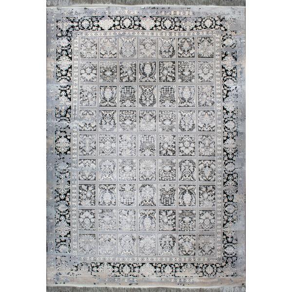 فرش ماشینی افرند طرح پتینه کد 6604
