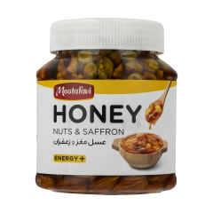 عسل مغز و زعفران مصطفوی - 550 گرم