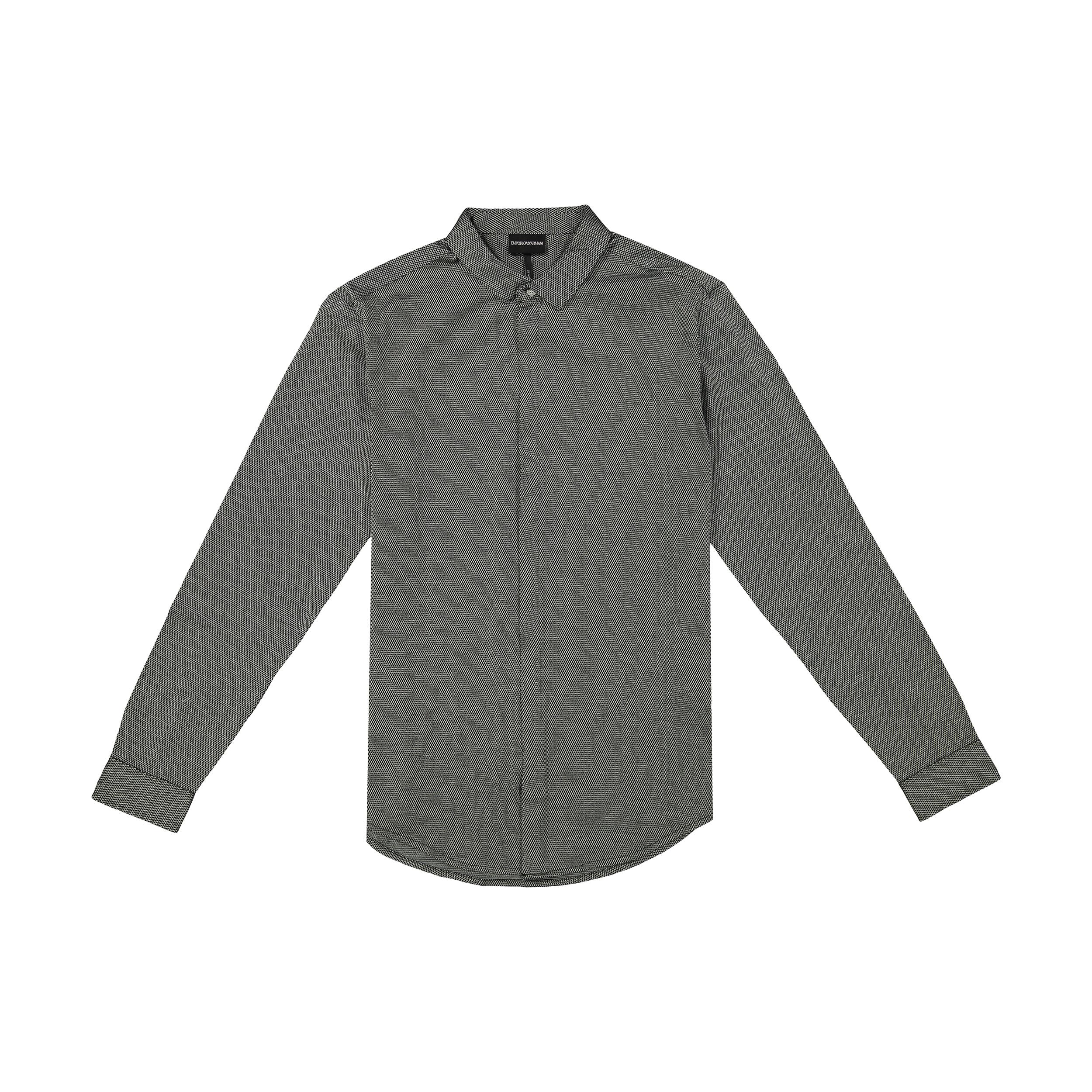 پیراهن آستین بلند مردانه امپریو آرمانی مدل 3G1CG11JKVZ-F503